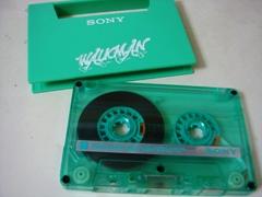 緑のカセットテープ.JPG