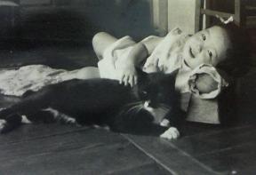 黒猫と私.jpg